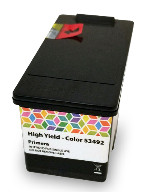 Primera LX910 Ink Cartridge, High Yield Color Dye (53492)