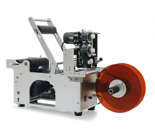 LA600p Label Applicator with Printer - Round Bottle Labeling Machine with Printer (with transparent sensor)
