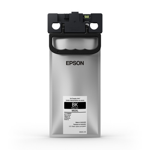 Epson M02XL High Capacity Black Inks for WF-M5299/M5799 10,000 Page Yield (M02XL120)
