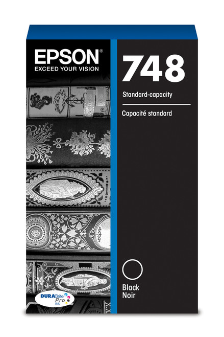 Epson WorkForce Pro 748 Standard Capacity Black Ink for WF-6090/6530/6590