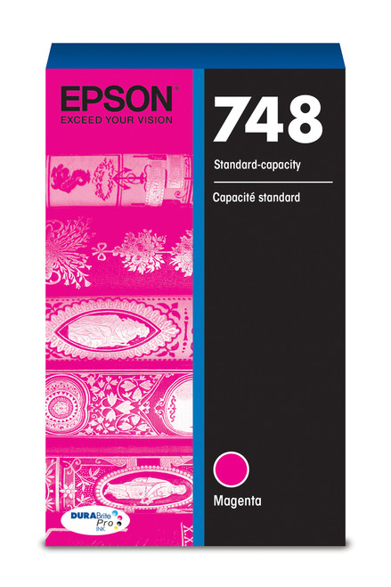 Epson WorkForce Pro 748 Standard Capacity Magenta Ink for WF-6090/6530/6590