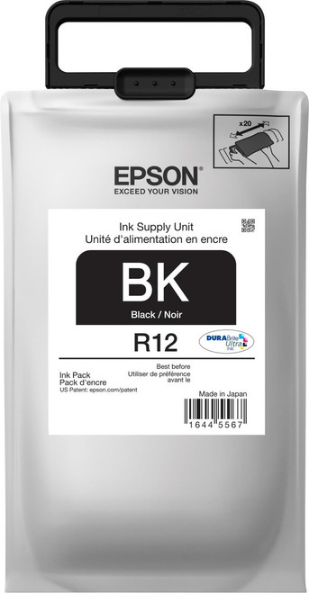 Epson R12 STANDARD BLACK INK WORKFORCE R5190/R5690 - TR12120