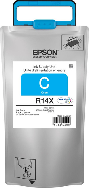 Epson R14X Cyan Ink Pack  Extra High Capacity - WORKFORCE R5190/R5690
