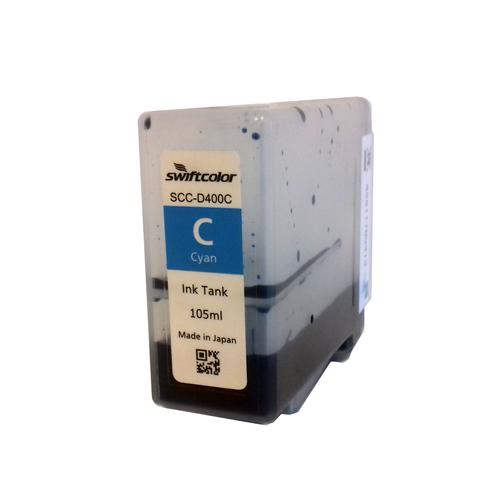 SwiftColor SCC-4000D Cyan Dye Ink Cartridge