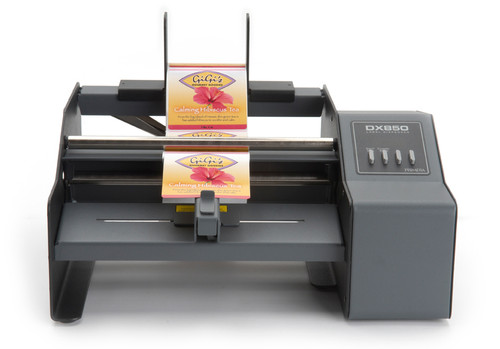 Get the Primera DX850 Label Dispenser (74231) to easily dispense all your labels for easy application. Will automatically present label so that you can grab it and apply to your product without having to peel it off the liner.