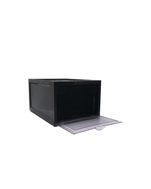 Black Shoe Box - 35.7cm x 28cm x 18.6cm - Storage Box | Display Box (99478)
