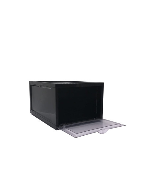 Black Shoe Box - 35.7cm x 28cm x 18.6cm - Storage Box | Display Box (99478)