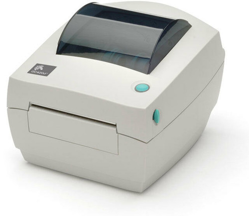 "Zebra GC420D 203 dpi Desktop Direct Thermal Label Printer 4""/USB/Dispenser (ZEB-GC420-200511-000)"