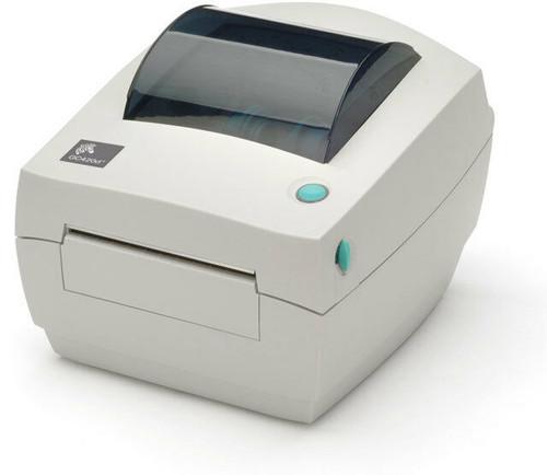 "Zebra GC420D 203 dpi Desktop Direct Thermal Label Printer 4""/Ethernet/Dispenser (ZEB-GC420-200411-000)"