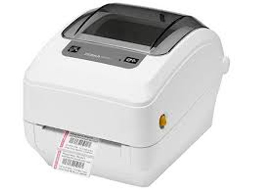 """Zebra GK420T Healthcare 203 dpi Desktop Thermal Transfer Label Printer 4""""/USB (ZEB-GK4H-102510-000)"""