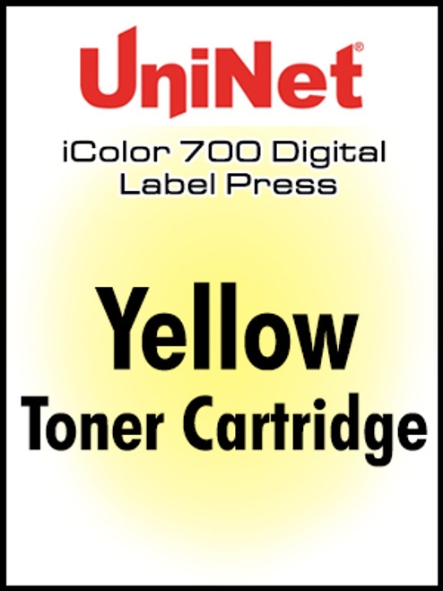 UniNet iColor 700 Yellow Toner Cartridge