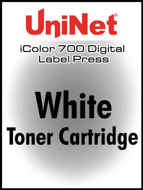 UniNet iColor 700 Fluorescent White toner cartridge, STD yield (6,000 pages