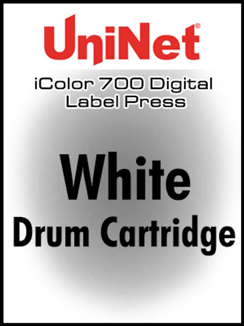 UniNet iColor 700 Fluorescent White drum cartridge, STD yield