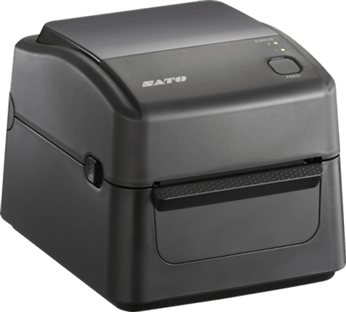 SATO WS408TT 203 dpi Thermal Transfer Label Printer w/ Dispenser
