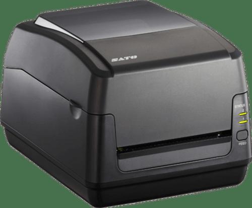 SATO WS412TT  300 dpi Thermal Transfer Label Printer w/ Dispenser/Bluetooth
