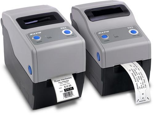 SATO CG212DT 305 dpi Direct Thermal Label Printer w/ USB/LAN/Cutter