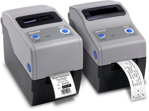 SATO CG212DT 305 dpi Direct Thermal Label Printer w/ USB/RS232C/Dispenser