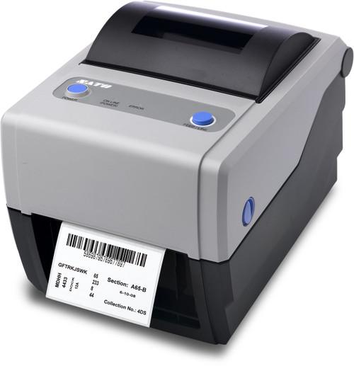 SATO CG408TT 203 dpi Thermal Transfer Label Printer w/ USB/LAN/Cutter