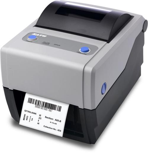 SATO CG408TT 203 dpi Thermal Transfer Label Printer w/ USB/RS232C/Dispenser (SATO-WWCG18231)