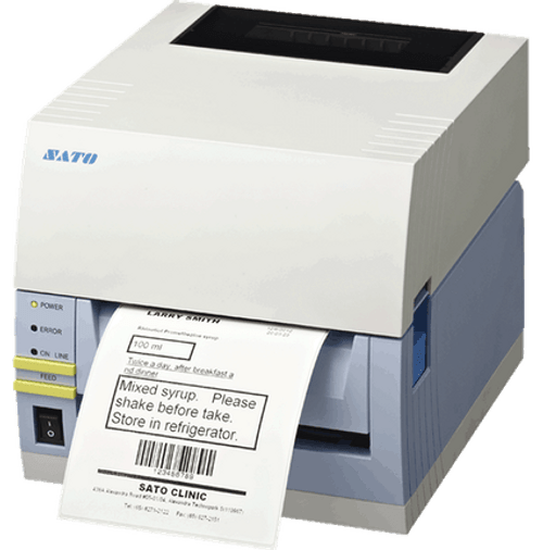 SATO CT408iTT 203 dpi Thermal Transfer Label Printer w/ USB/RS232C/Dispenser