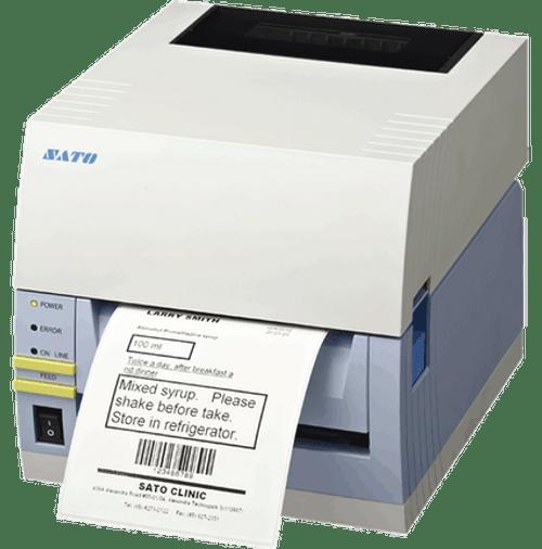 SATO CT408iTT 203 dpi Thermal Transfer Label Printer w/ USB/RS232C/Cutter