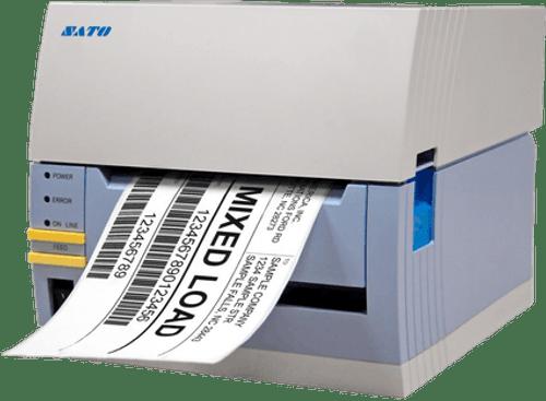 SATO CT412iTT 305 dpi Thermal Transfer Label Printer w/ USB/RS232C/Dispenser