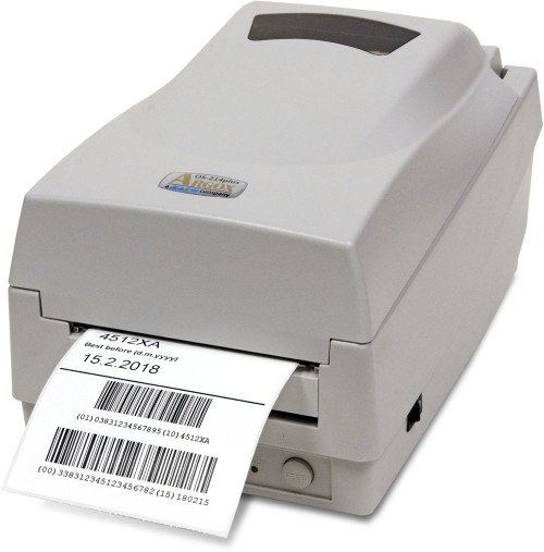 Argox OS-214plus TT 203 dpi Thermal Transfer Label Printer
