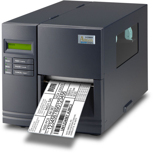 Argox X-2300ZE TT 203 dpi Thermal Transfer Label Printer w/ LAN/RTC