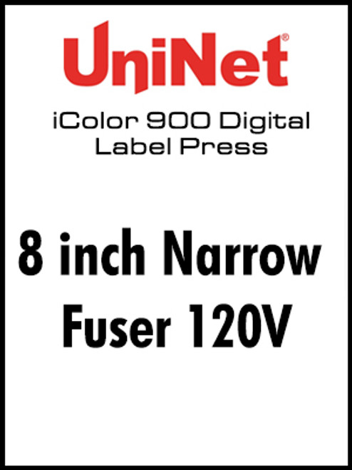 UniNet iColor 900 Fuser 120V - 8 inch Narrow