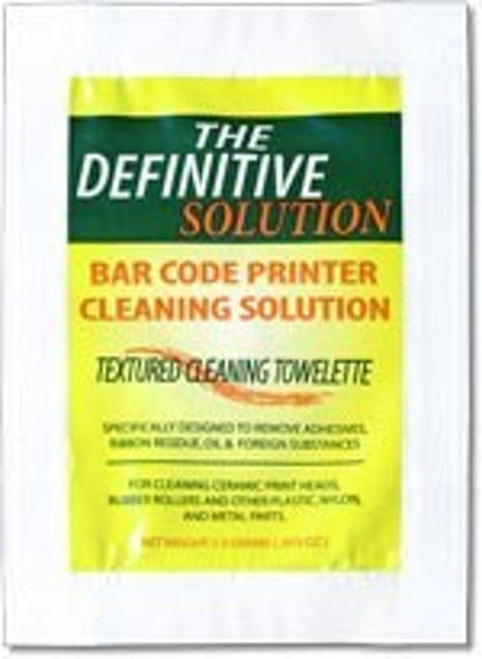 SATO Eco-Friendly Cleaning Wipes (25 per box) 14S000178