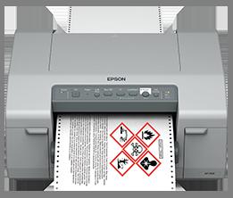 Shop for Epson GP-C831 Label Printer (Drum Label Printer)