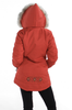 Shows Embroidery on Back (different colour coat)
