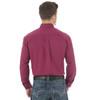 Men's Wrangler 20x Solid Magenta Shirt