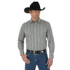 Men's Wrangler Wrinkle Resist Khaki and Black Shirt
