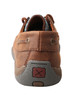 Women's Twisted X Driving Moccasin Brown/Blue Fish