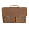 Adrian Klis Leather Briefcase
