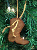 CEOriginals Handmade Leather Cowboy Boot Ornament