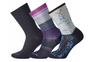 Smartwool Women's Trio Deep Navy Sock Gift Pack