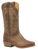 Women's Boulet Brown Cutter Toe Western Boot