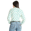 Women's Wrangler Ivory Cactus Long Sleeve Shirt