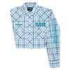 Men's Wrangler Dodge RAM Rodeo Series Blue Plaid Western Shirt
