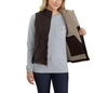 Women's Carhartt Washed Duck Sherpa Lined Vest