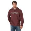 Men's Wrangler Logo Hoodie Rust