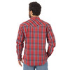 Men's Wrangler 20x Red Plaid Shirt