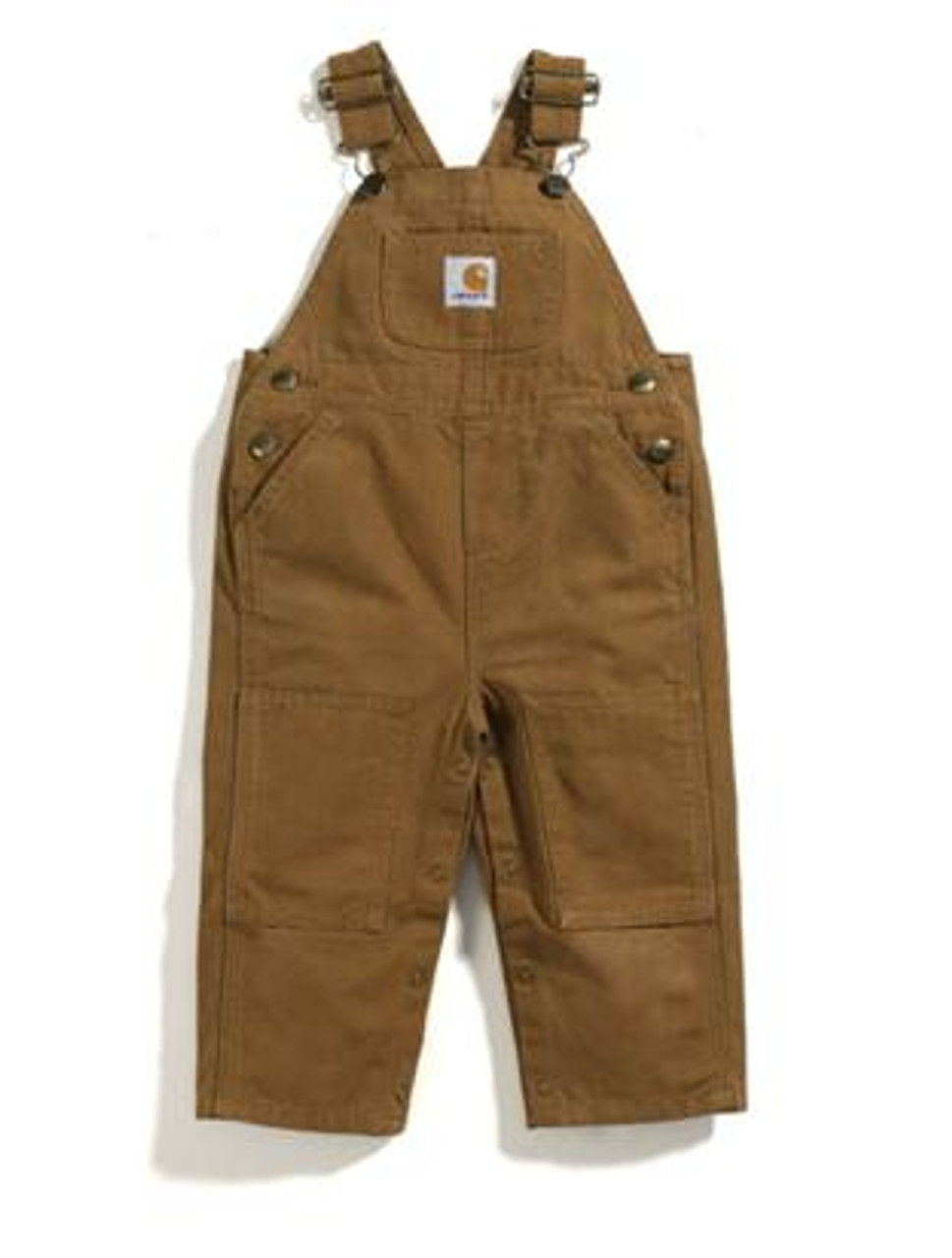 8579b9fbb Children's Carhartt Washed Duck Bib Overall