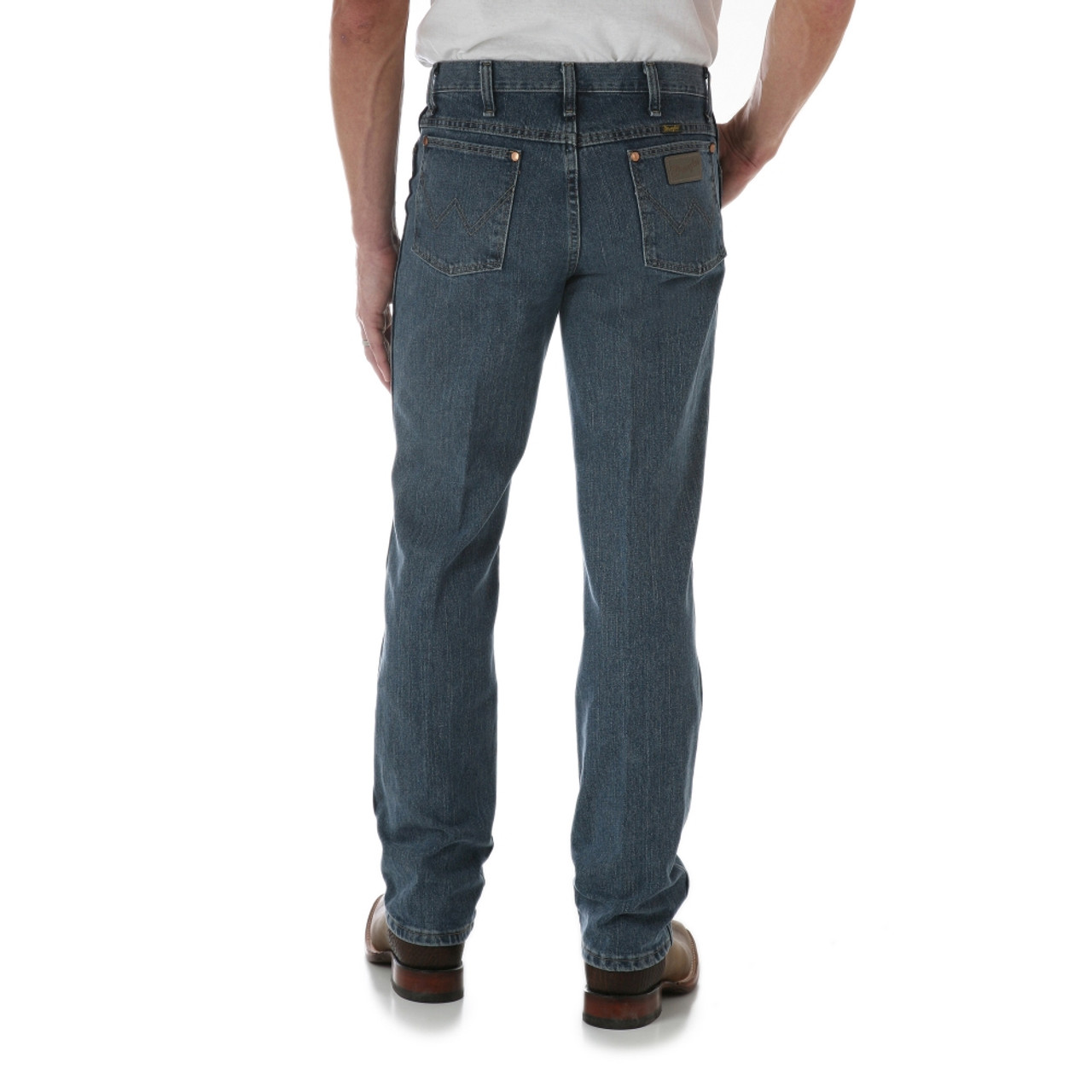c981568c Men's Wrangler Rough Stone Slim Fit ProRodeo Boot Cut Jeans - Herbert's  Boots and Western Wear