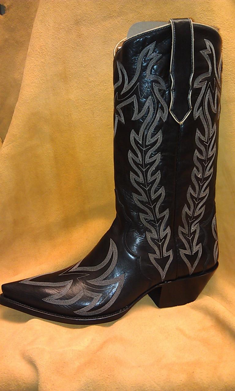 82c58ec5427 Liberty Boot Co.'s Diablo Negro Cowboy Boot