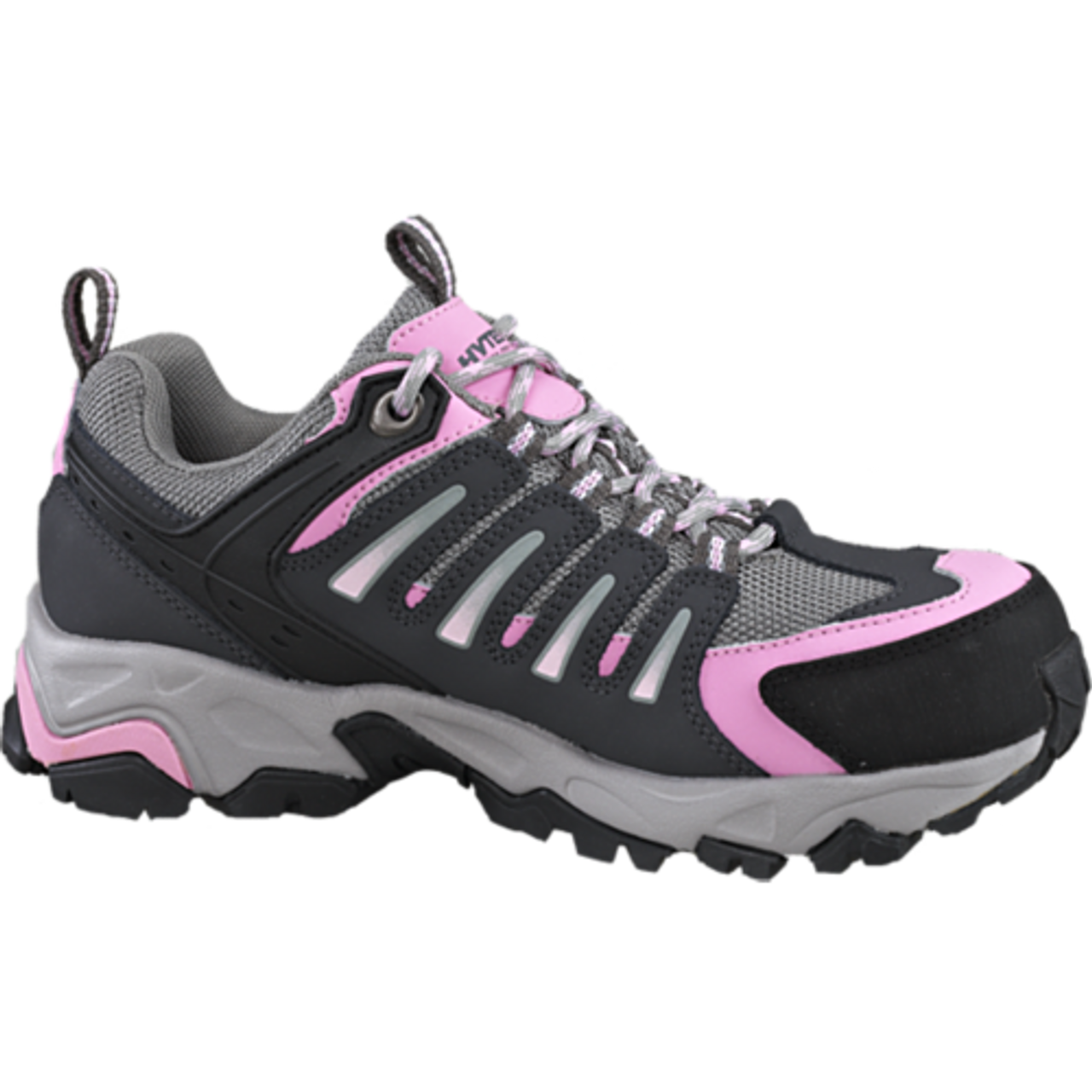 a944deb191c Women's Wolverine Gazelle Grey and Pink Safety Shoe