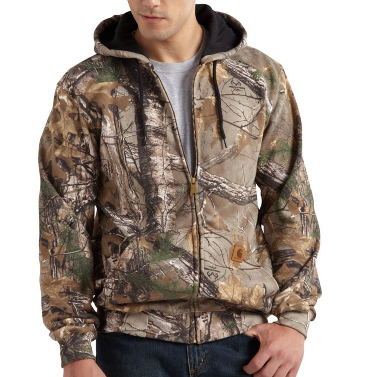82952f1f7e Carhartt Midweight Realtree Xtra Hooded Zipper Sweatshirt - Herbert s Boots  and Western Wear