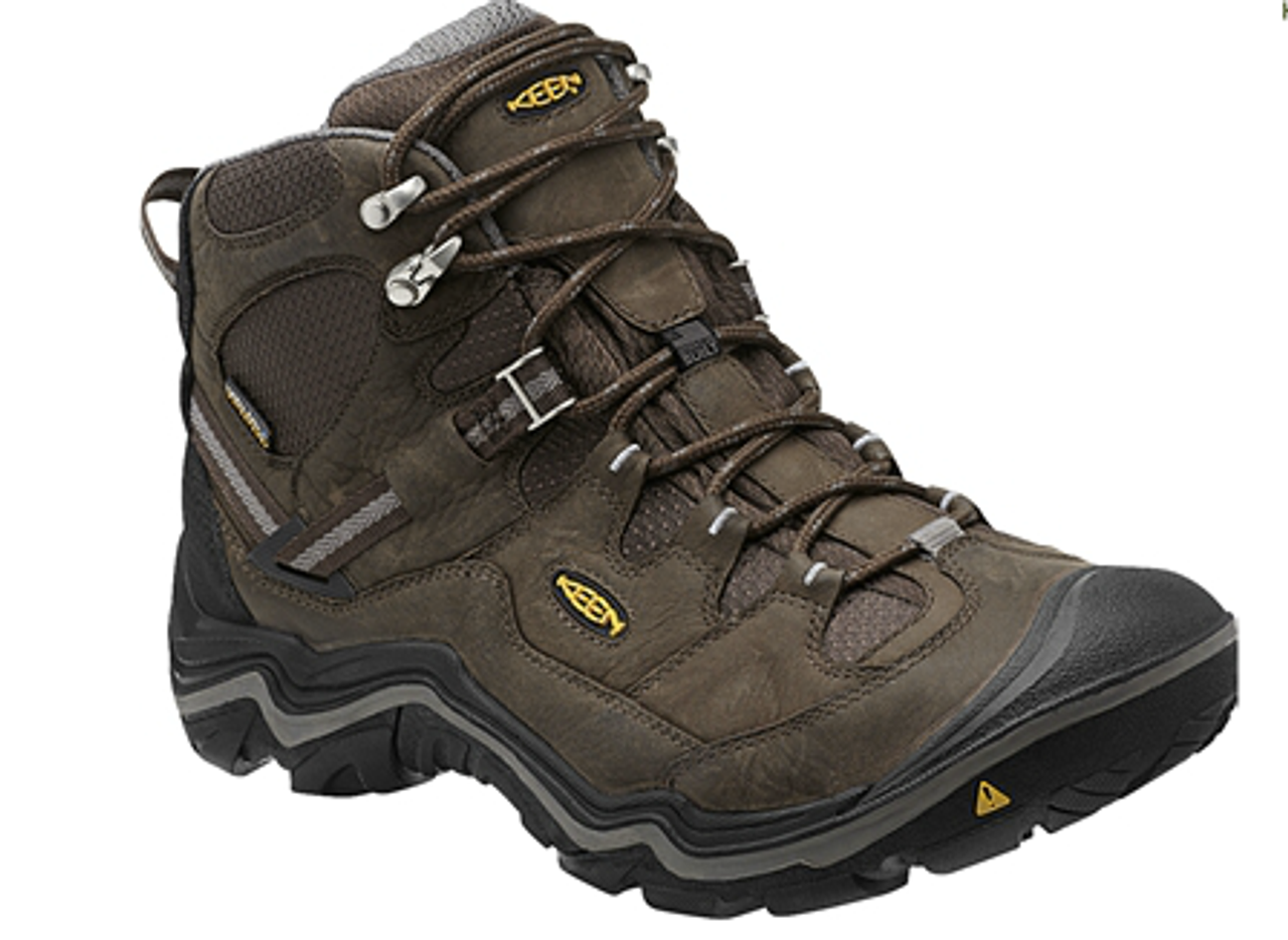 c7fd7103591 Men's Keen Durand Mid Waterproof Cascade Brown/Gargoyle Hiking Boot
